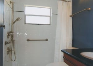 ADA Compliant Shower Bar | Greaves Construction