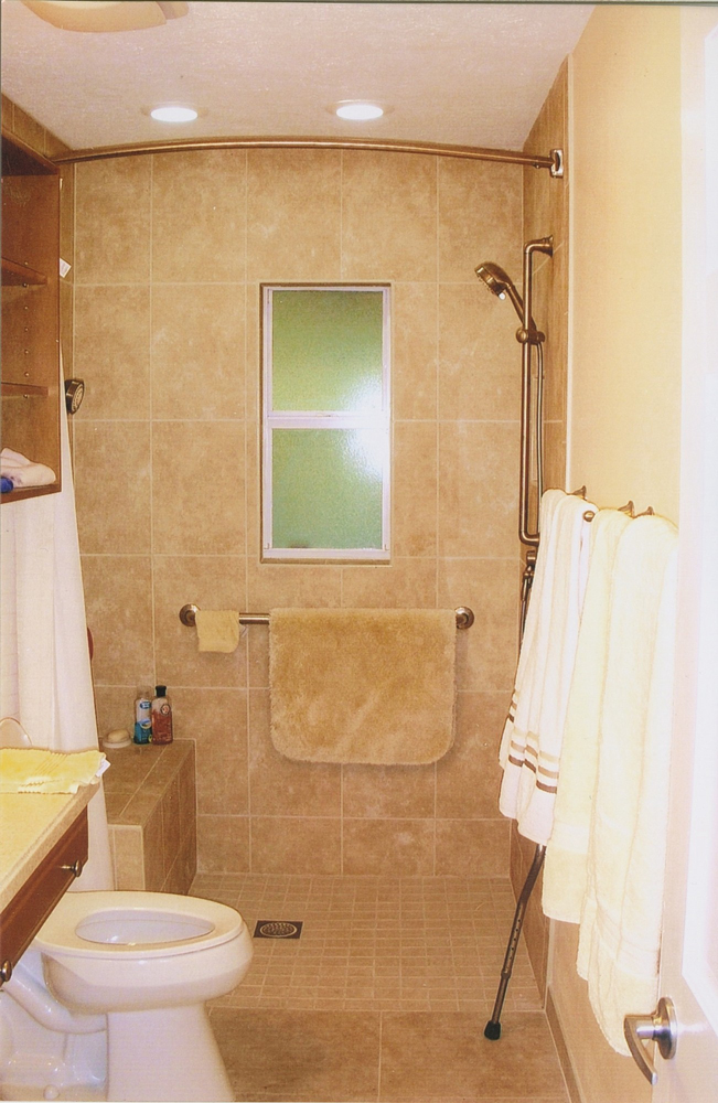 Accessible Shower Modifications   Greaves Construction