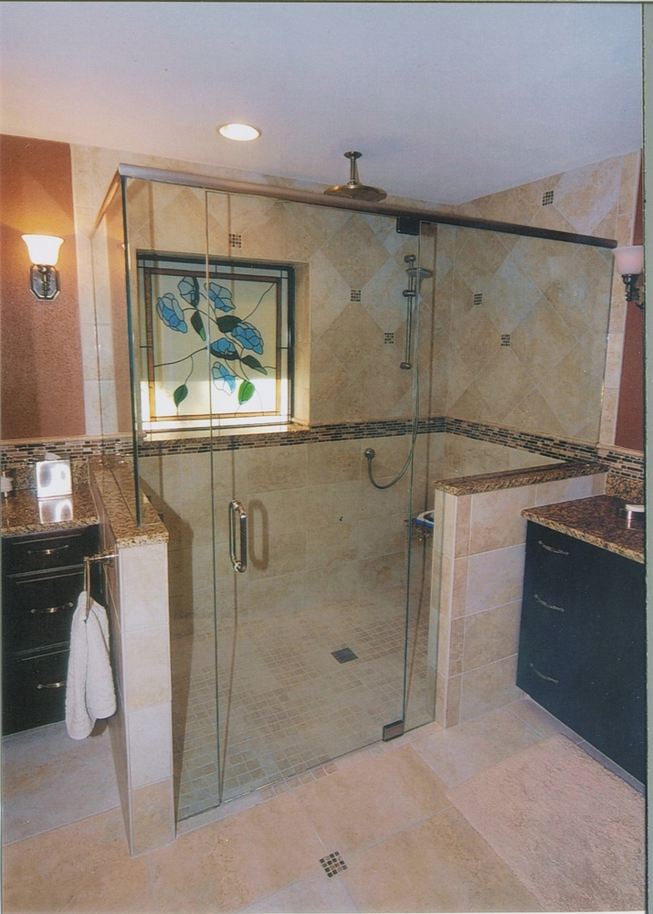 ADA Accessible Shower   Greaves Construction