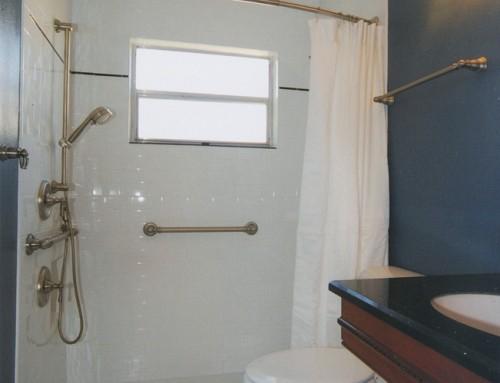 ADA Compliant Shower Bar