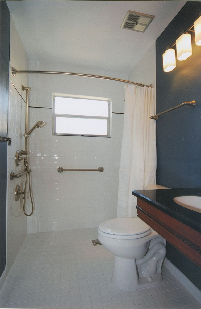 ADA Compliant Shower Bar   Greaves Construction