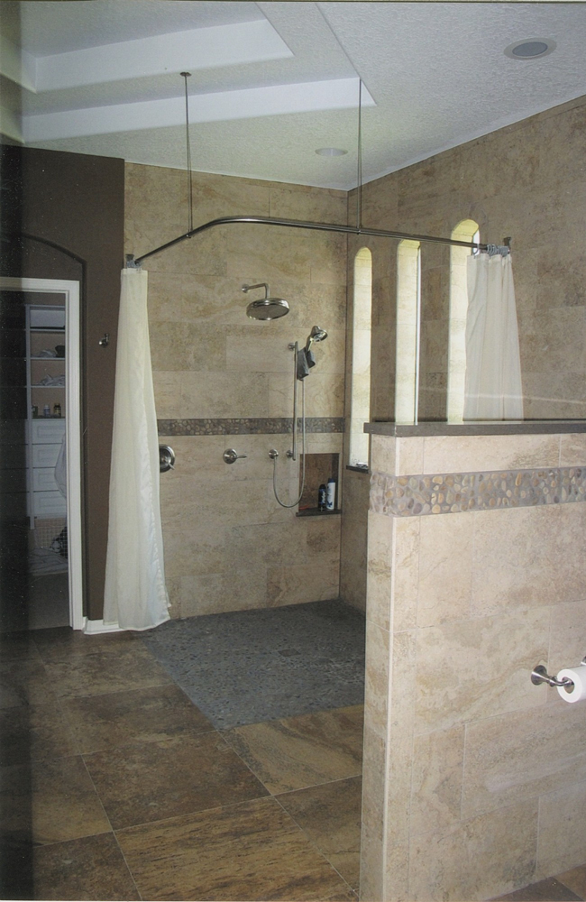 ADA Compliant Shower | Greaves Construction