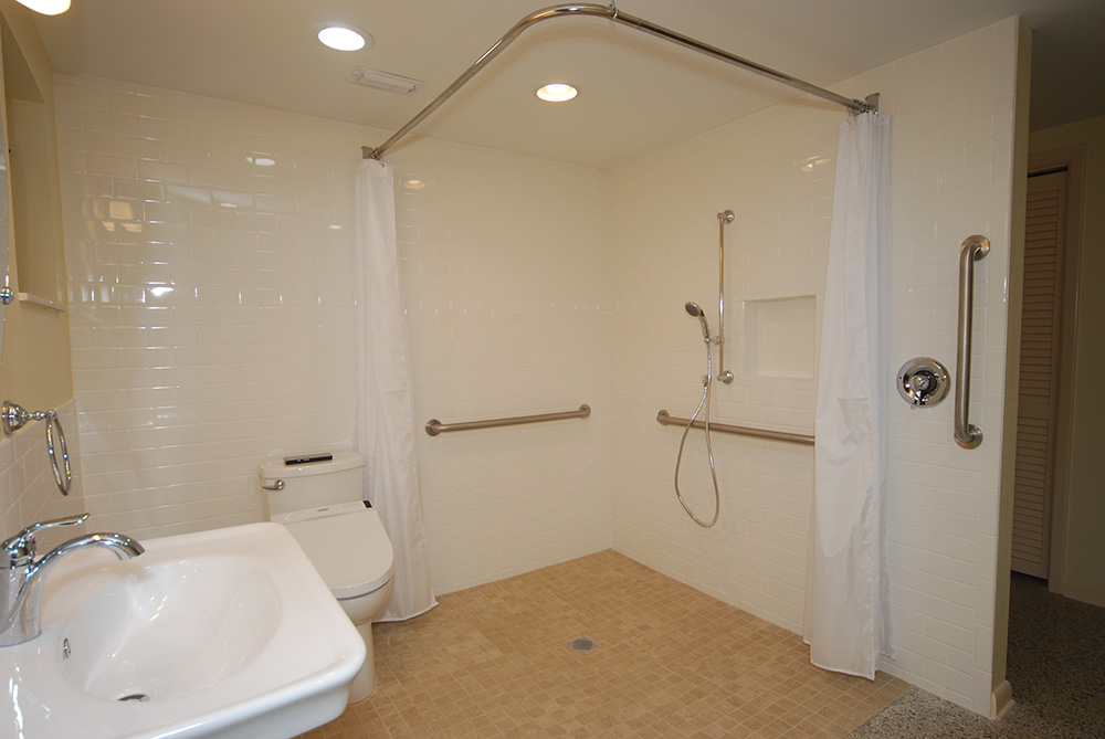 ADA Shower and Bathroom | Greaves Contruction